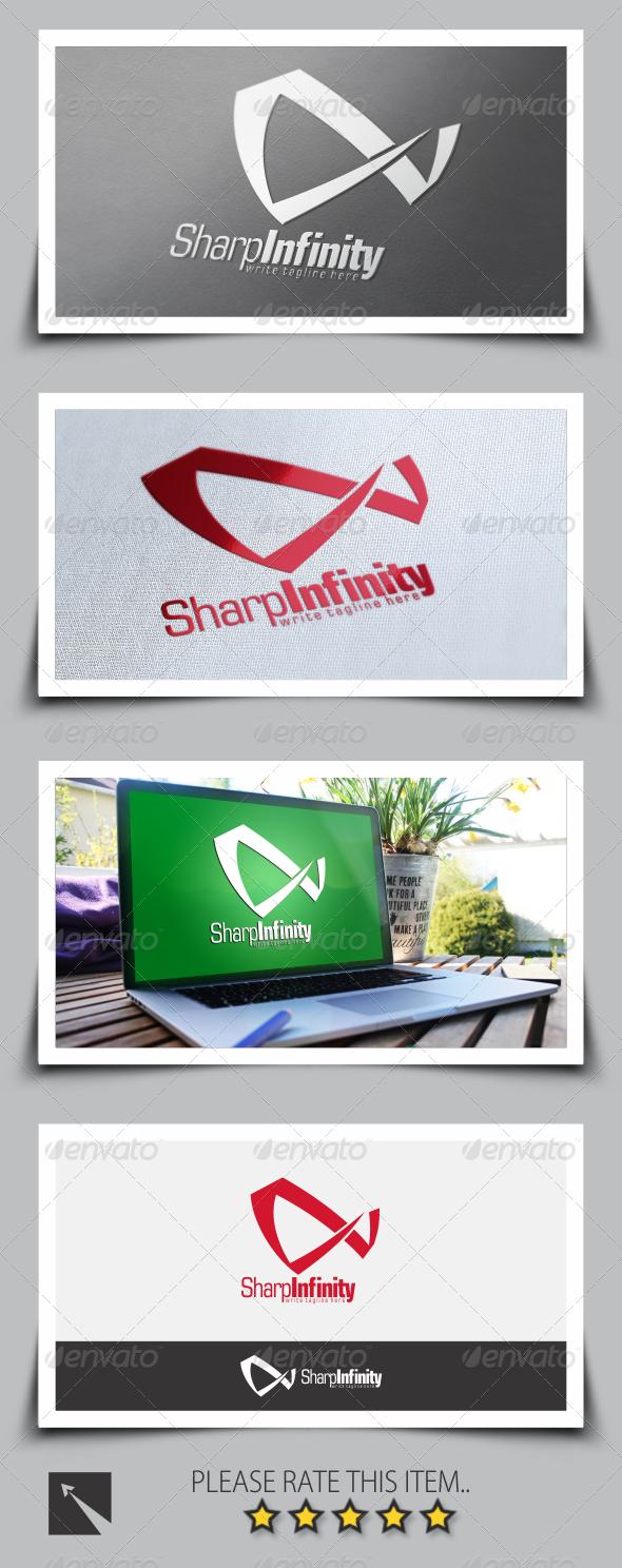GraphicRiver Sharp Infinity Logo Template 8537453