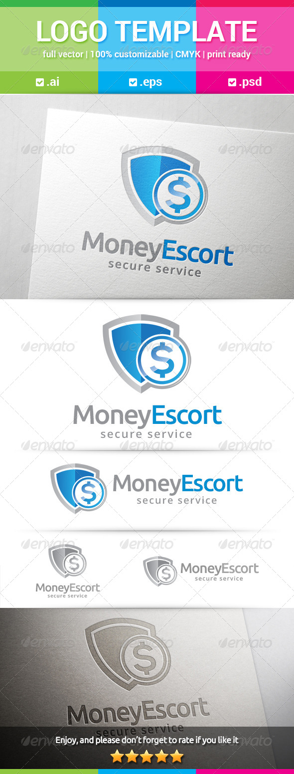 GraphicRiver Money Escort Logo 8537454