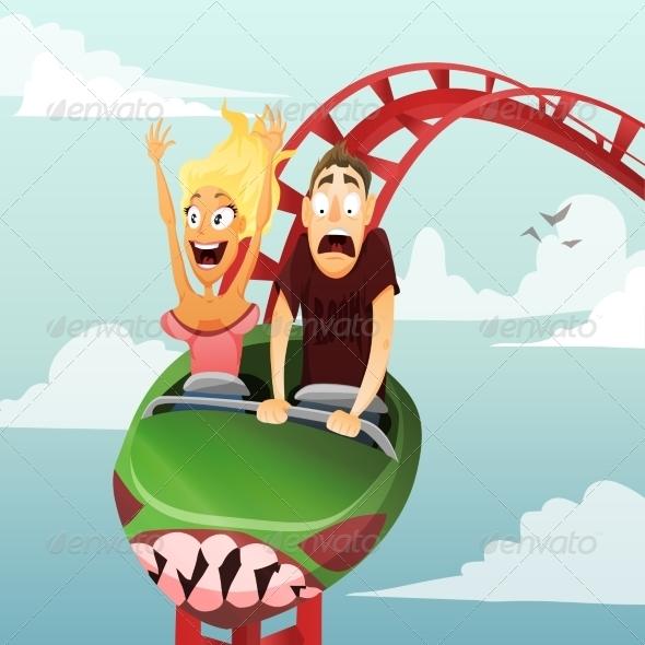 GraphicRiver Roller Coaster 8537544