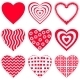 Valentine Hearts Set - GraphicRiver Item for Sale