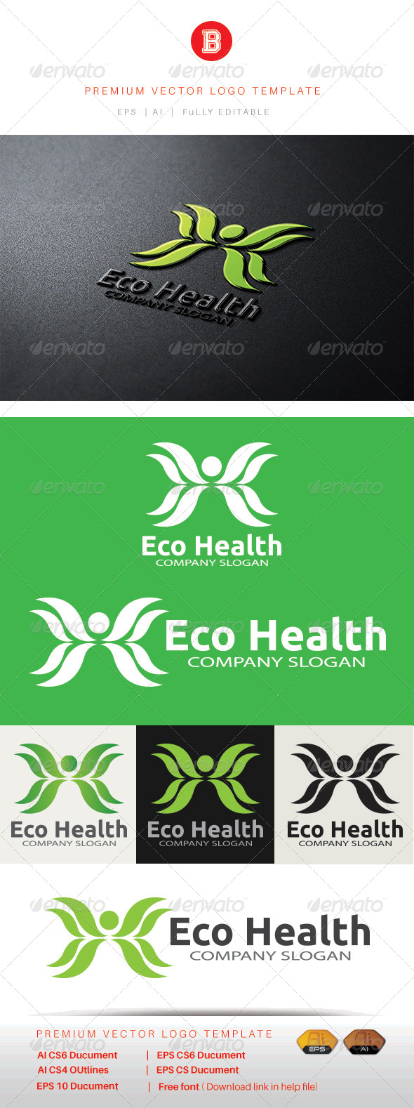 GraphicRiver Eco Health 8537603