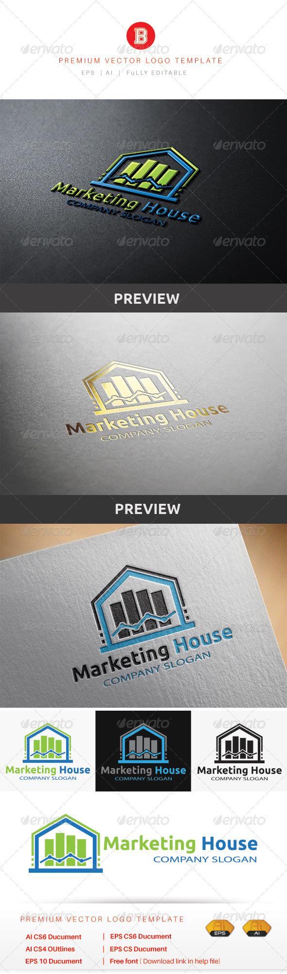 GraphicRiver Marketing House 8537620