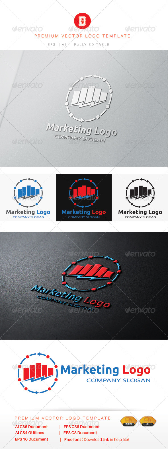 GraphicRiver Marketing Logo 8537626