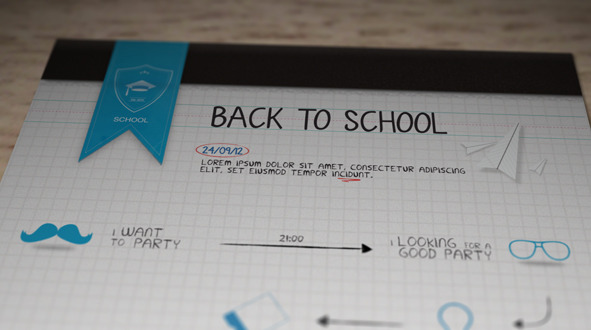 After Effects Project - VideoHive Back To School Motion 867937