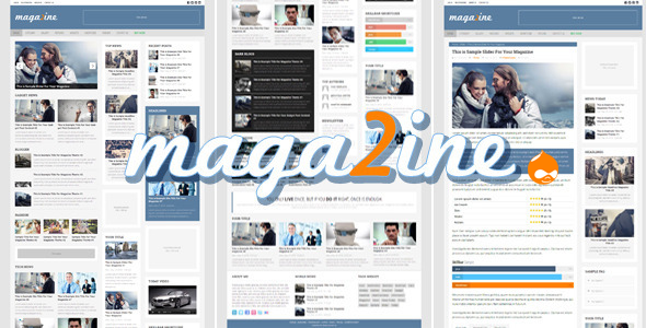 preview.  large preview - Magazine 2 - Modern Drupal Magazine Theme