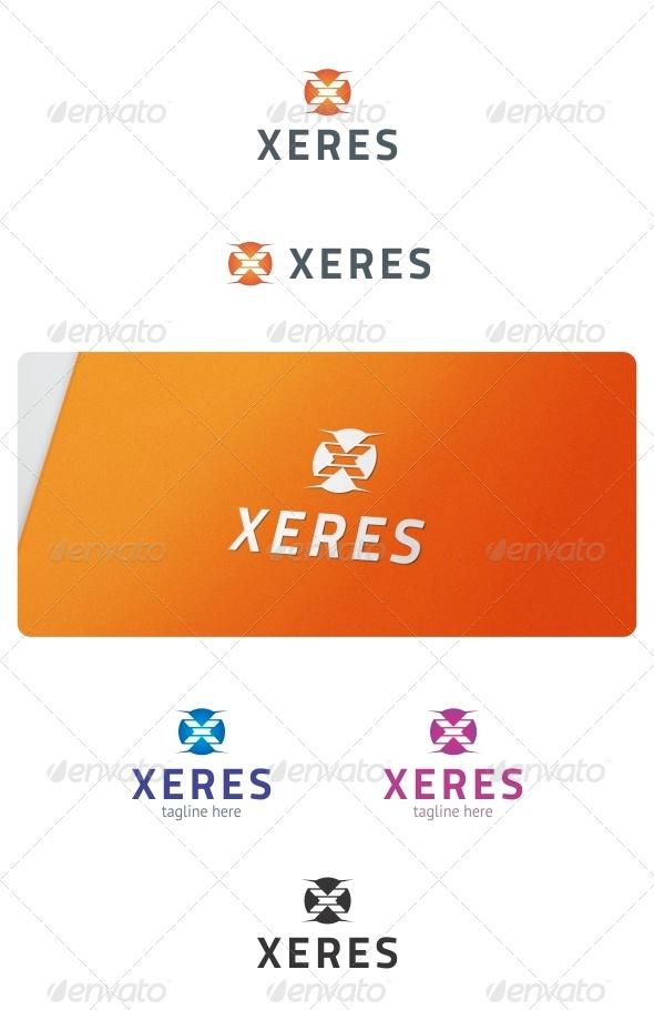 GraphicRiver Xeres Logo 8539129