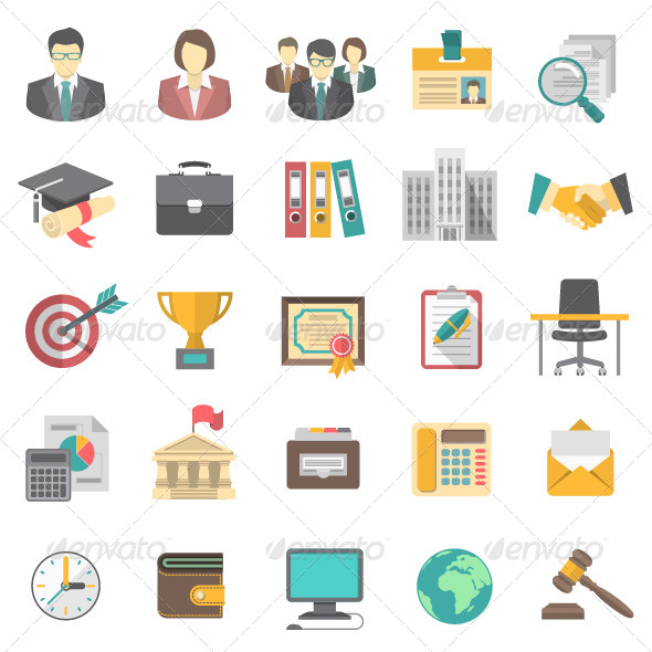 GraphicRiver Resume Icons 8539140