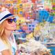 Traveler girl enjoying colorful cityscape - PhotoDune Item for Sale