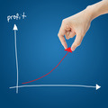 Business hand help profit graph - PhotoDune Item for Sale