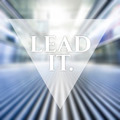 Lead It. Vision business quote. - PhotoDune Item for Sale