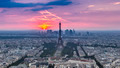 Sunset Eiffle Tower. Paris. France - PhotoDune Item for Sale