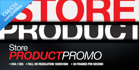 After Effects Project - VideoHive Store Product Promo 868249