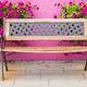 Colorful vintage chair with flowers behind europe style. - PhotoDune Item for Sale