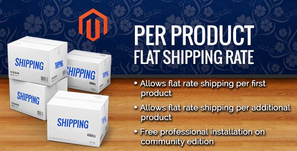 CodeCanyon Magento Per Product Flat Shipping Extension 8539567