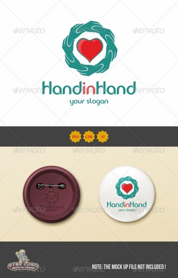 GraphicRiver HandinHand Logo 8538085