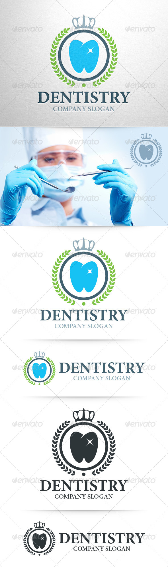 GraphicRiver Dentistry Logo Template 8539673