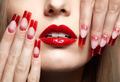 Acrylic nails manicure - PhotoDune Item for Sale