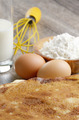 Milk, flour, whisk, pancakes and eggs - PhotoDune Item for Sale