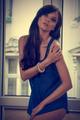 sensual woman in indoor portrait - PhotoDune Item for Sale