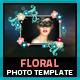 Floral Photo Template - GraphicRiver Item for Sale