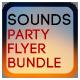 Sounds Party Flyer Bundle - GraphicRiver Item for Sale