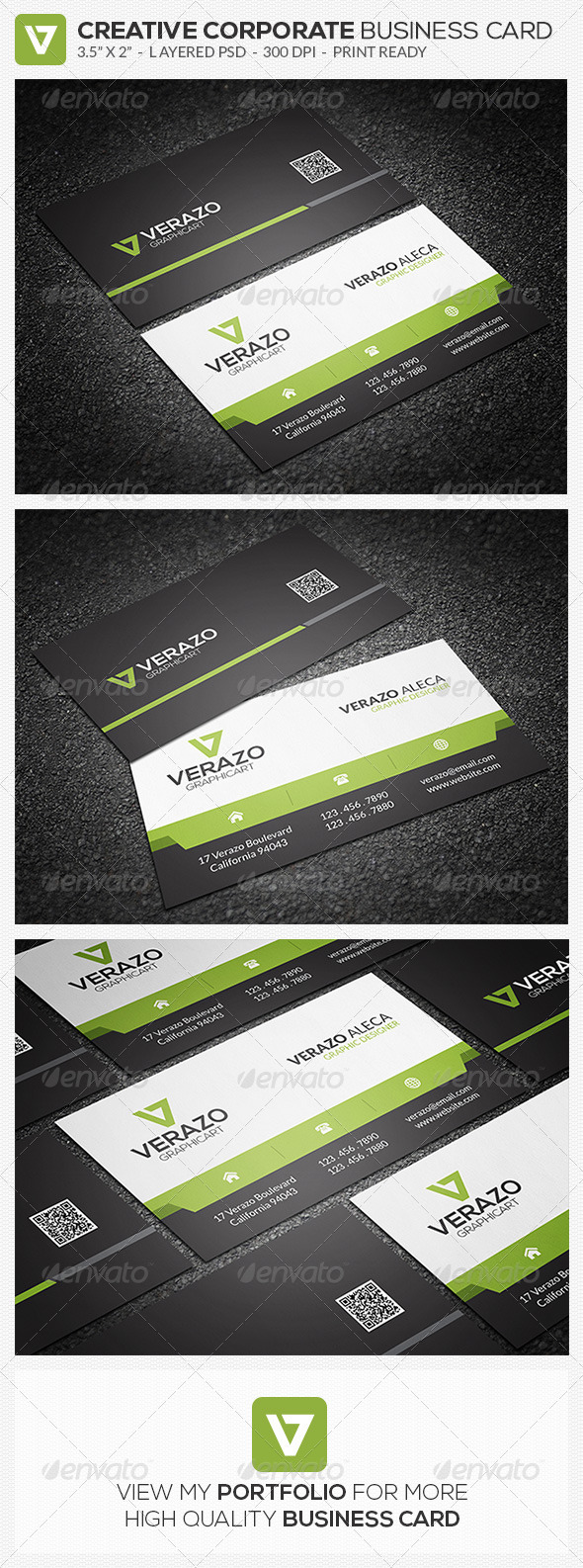 GraphicRiver Creative Corporate Business Card 55 8540111