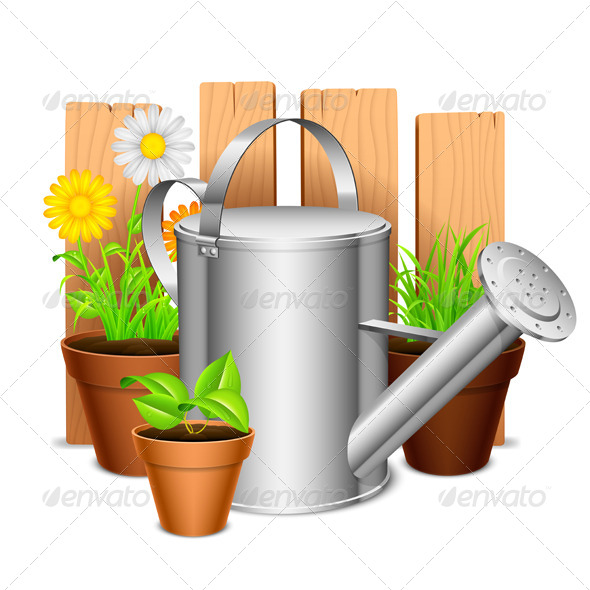 GraphicRiver Garden Equipment 8540394