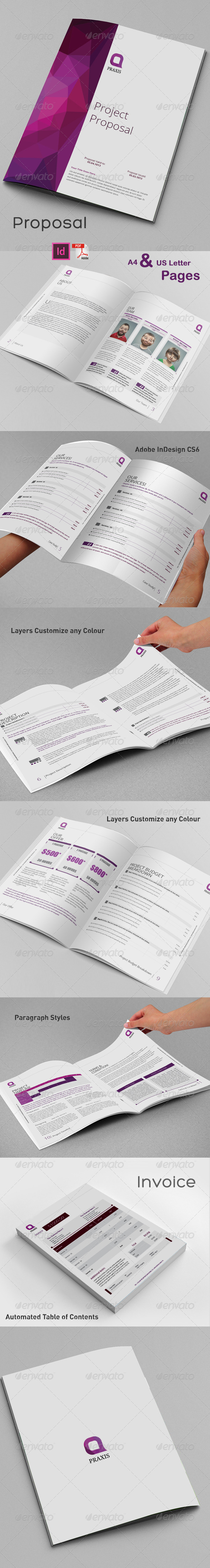 GraphicRiver Proposal Template 8540573