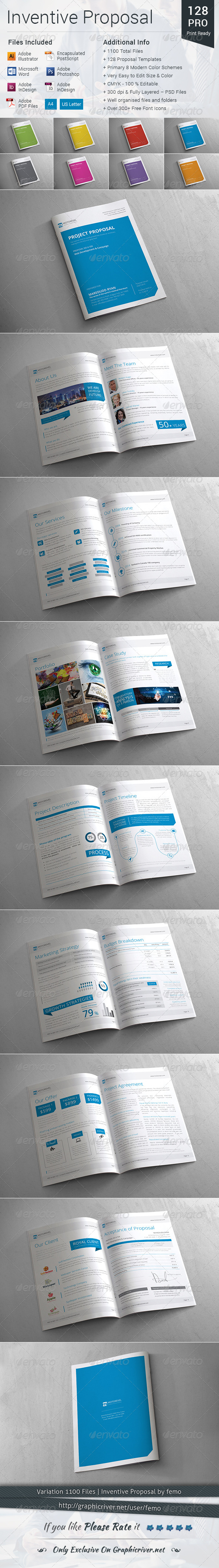 GraphicRiver Inventive Proposal 8540704