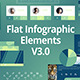 Flat Infographic Elements V3.0 - VideoHive Item for Sale