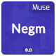 Negm - OnePage Creative Muse Template - ThemeForest Item for Sale