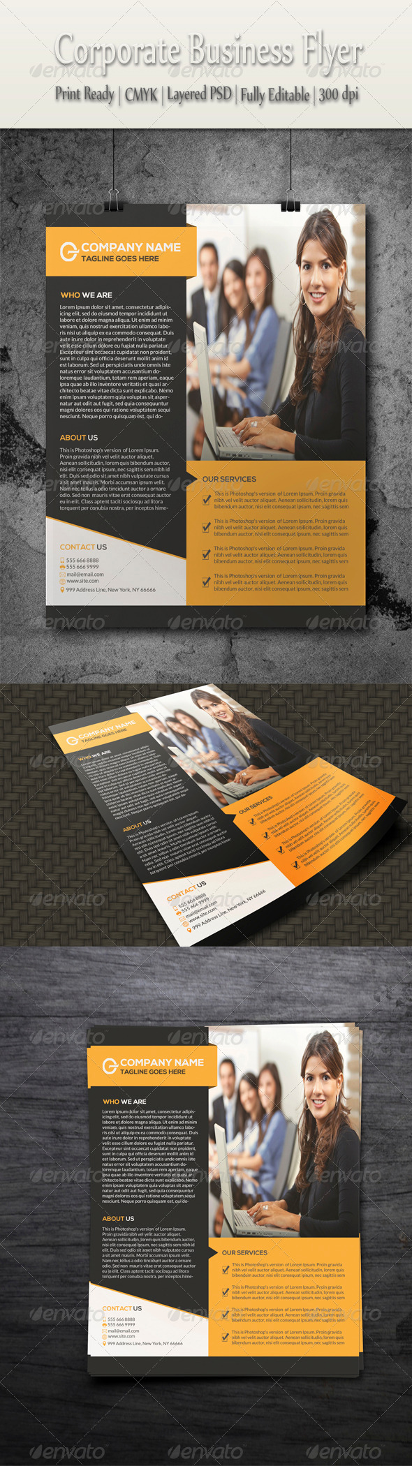 GraphicRiver Corporate Business Flyer 8541250