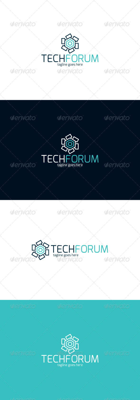 GraphicRiver Tech Forum Logo 8498449