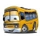 Cartoon School Bus - GraphicRiver Item for Sale