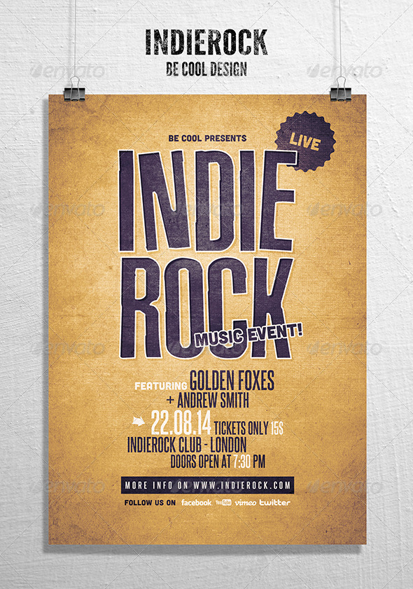 GraphicRiver Indie Flyer Poster 8541805