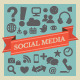 Social Media Icon Collection - GraphicRiver Item for Sale