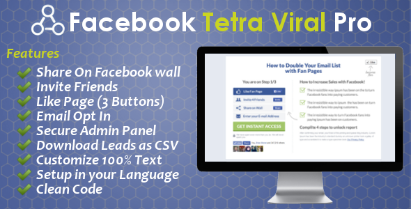 CodeCanyon Facebook Triple Viral Pro 8541930