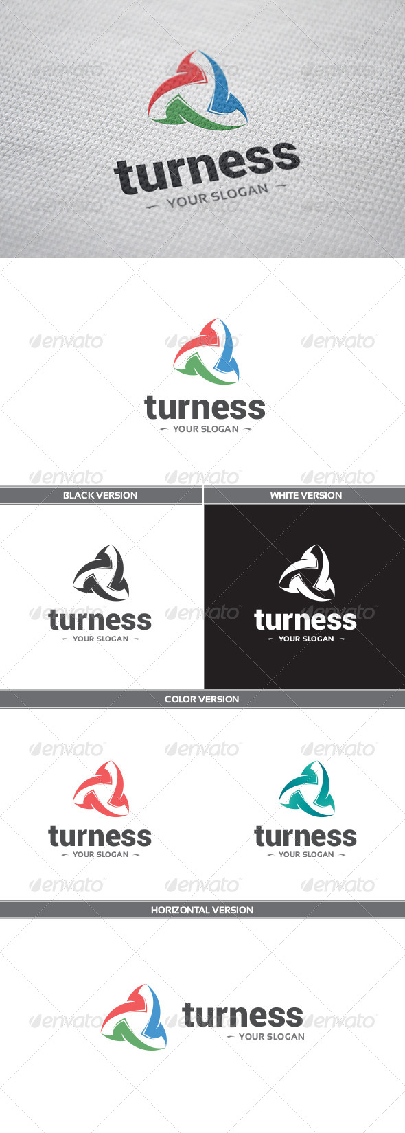 GraphicRiver Turness Logo 8542184