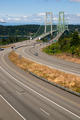 Highway 16 Crossing Puget Sound Over Tacoma Narrows Bridge - PhotoDune Item for Sale
