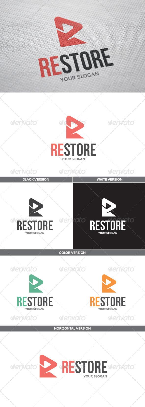 GraphicRiver Restore Logo 8542325