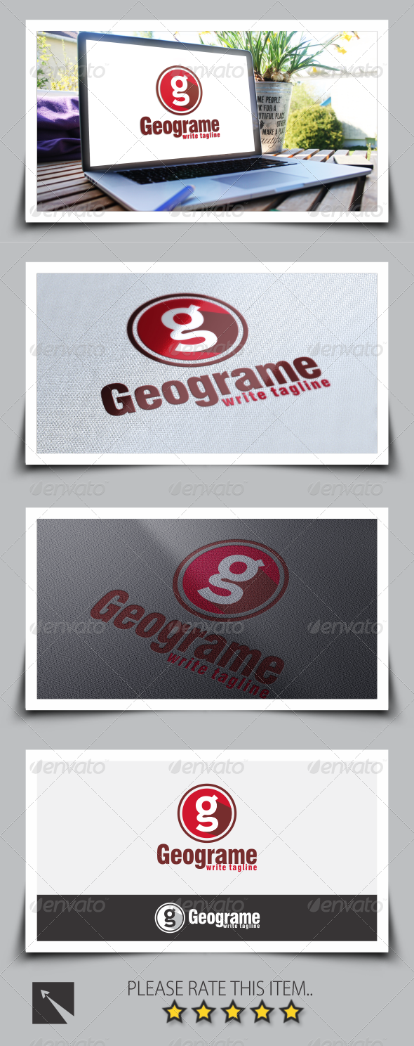 GraphicRiver Letter G Logo Template 8542358