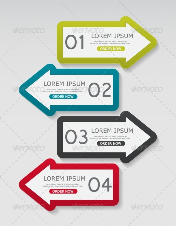 GraphicRiver Infographic Templates for Business 8542702