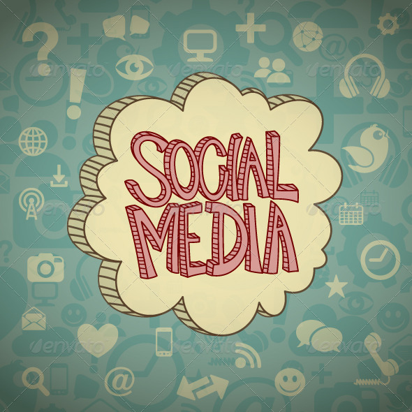 GraphicRiver Social Media Cloud 8541950