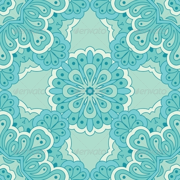 GraphicRiver Arabesque Seamless Pattern 8542992