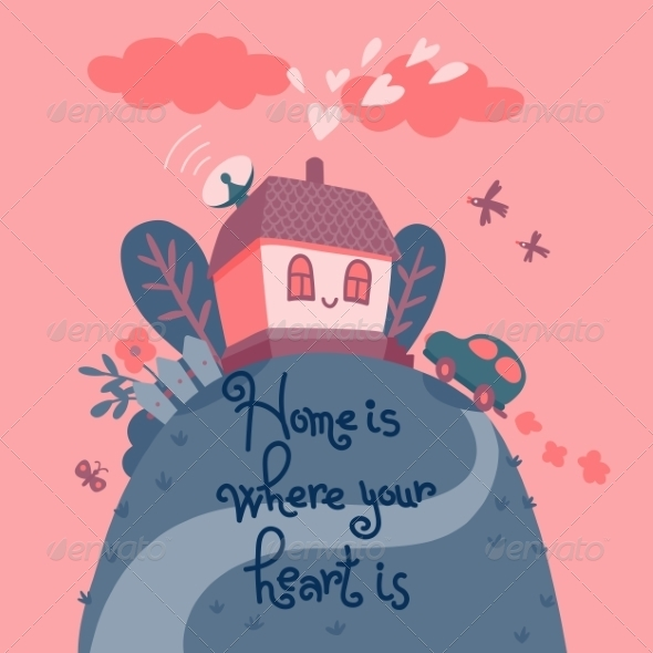 GraphicRiver Home is Where Your Heart Is 8542995