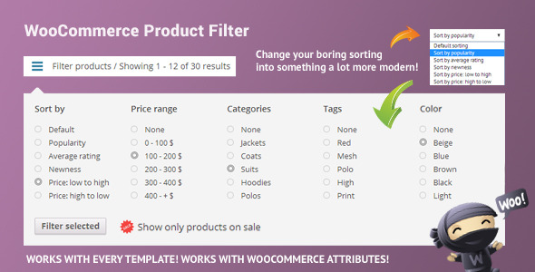 CodeCanyon WooCommerce Product Filter 8514038