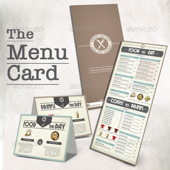 GraphicRiver Menu Book for Coffee Shop 8543045