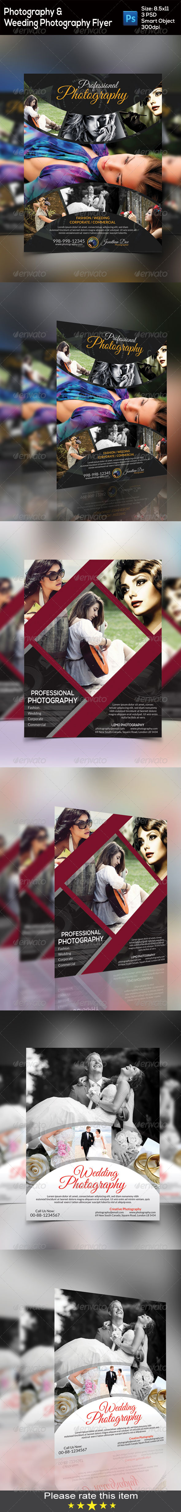 GraphicRiver Photography Flyer Bundle 8543277