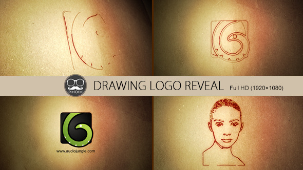 Drawing Logo Reveal