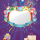 Party Invitation Card with Balloons - GraphicRiver Item for Sale
